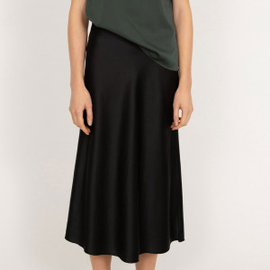Hana Satin Skirt
