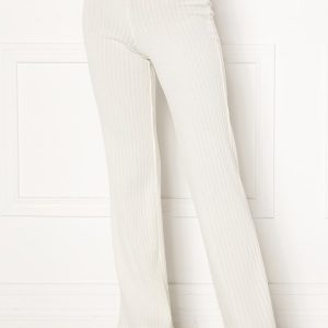 BUBBLEROOM Miley knitted trousers White XL