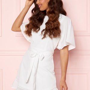 BUBBLEROOM Rhia Dress White 40