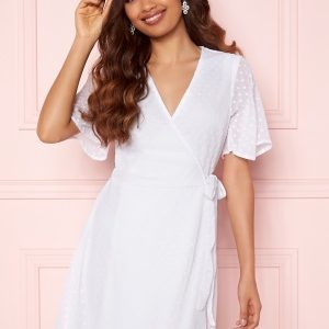 BUBBLEROOM Scarlette dotted dress White 32