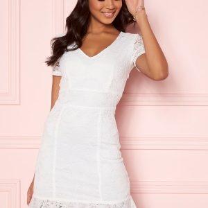 BUBBLEROOM Vilia lace dress White 34