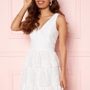 Moments New York Lemonie Lace Dress White 40