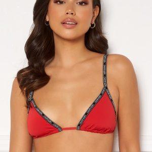 Calvin Klein Triangle Bikini Top XMK Rustic Red XS