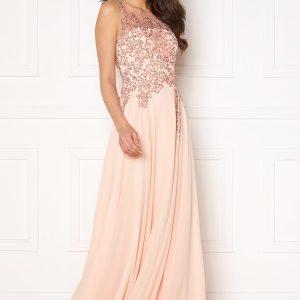 Christian Koehlert Alexandria Embellished Dress Pearl Pink 40