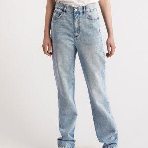 FRANKA High waist jeans med extra långa ben