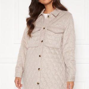 OBJECT Vera owen long quilt jacket Incense 36