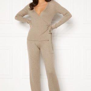 Rut & Circle Vanessa Knit Pant Mushroom XL