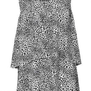 Cellbes Leopardmönstrad blus i 2 lager Leopard Mönstrad